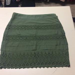 NWOT GAP layered skirt